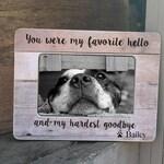 Pet Loss Frame Gift Dog Loss Cat Loss  Frame Dog Sympathy Cat Sympathy Pet Loss Death of dog Personalized Picture Frame