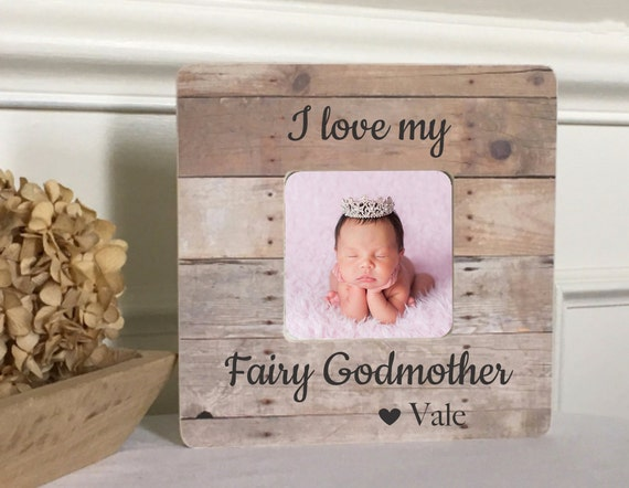 ON SALE Godmother Gift Godmother Frame Godfather Frame