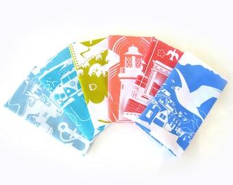 Rainbow SALE 2  tea towels for 15