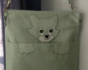 Handbag, Cross Body Bag, Cat Purse, Shoulder Bag, Purse, Everyday Purse, Cat Shoulder Bag, Cat Handbag, Character Purse