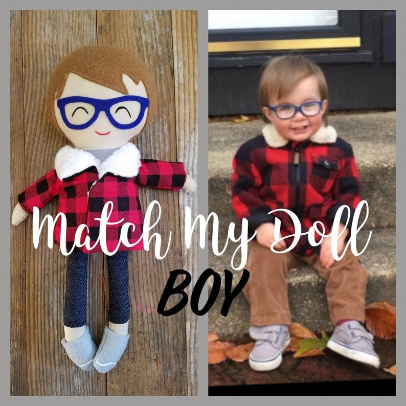707385469c885 Custom boy doll, Doll for boys, Personalized cloth doll, Modern rag doll,  Matching boy doll, Lookalike boy doll, Custom handmade doll