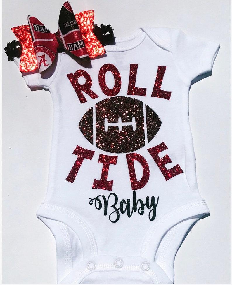 huge selection of 4353e bba35 Alabama Baby Girl, Girls Bama Outfit, Bama Baby Girl, Bama football outfit  , roll tide outfit, Bama baby, Girls Alabama Outfit, Baby Girl