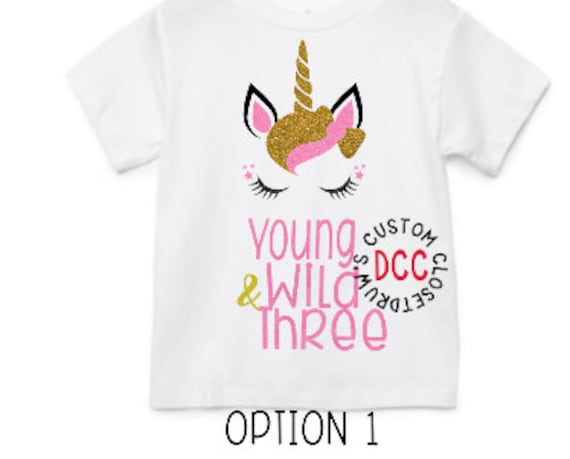 Unicorn Birthday Outfit Themed