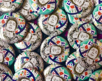 Bob Dylan, Psychedelic, Counter Culture, Folk music, Hippie, Button Badge.