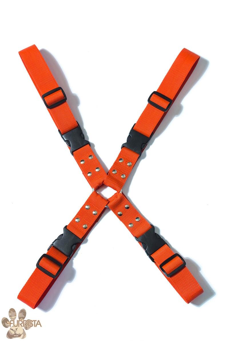Nylon fursuit X-Harness image 0