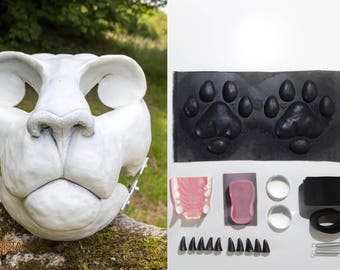 Big cat kit of fursuit parts **SAVER**