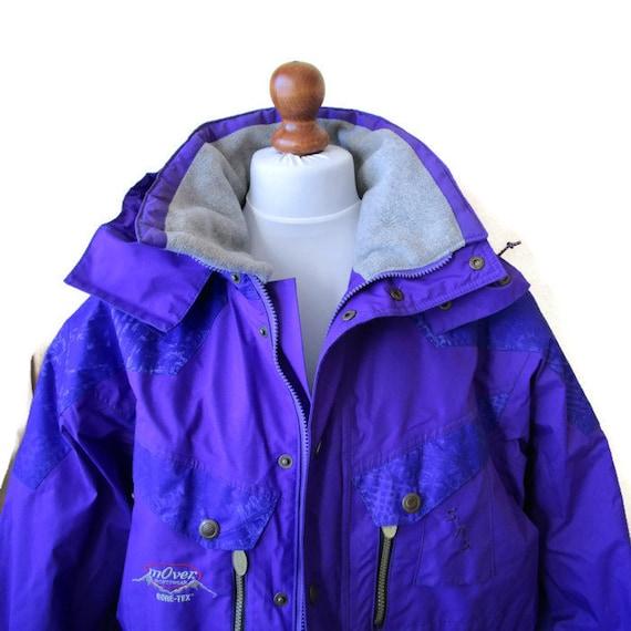 90s Parka Jacket wear Woman Sportwear Ski Royal Most Unisex mOver Tex Blue Active technical Men Gore Skiwear Parka Winter rSwr5qa