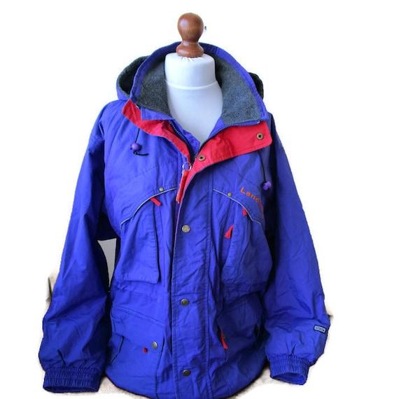 Vintage Land & Lake Parka 80s Jacket Blue Red Wint