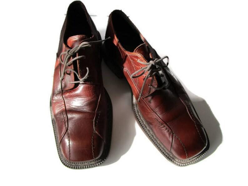 960853ff3de2 US men 8 PLAYBOY Shoes Mens 70s Retro Oxford Shoes Vintage
