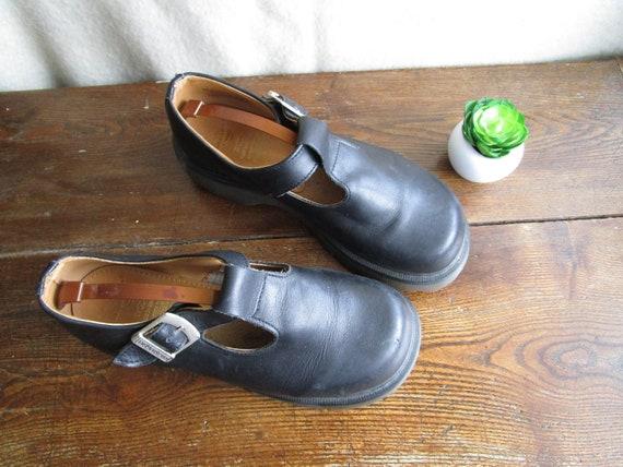 Janes Mary Goth 9 EU Grunge Size strap 7 Dr Doc Back Vintage The 5 Sandals Martens 40 Made Martens in T US Hipster Original England UK gqwx086