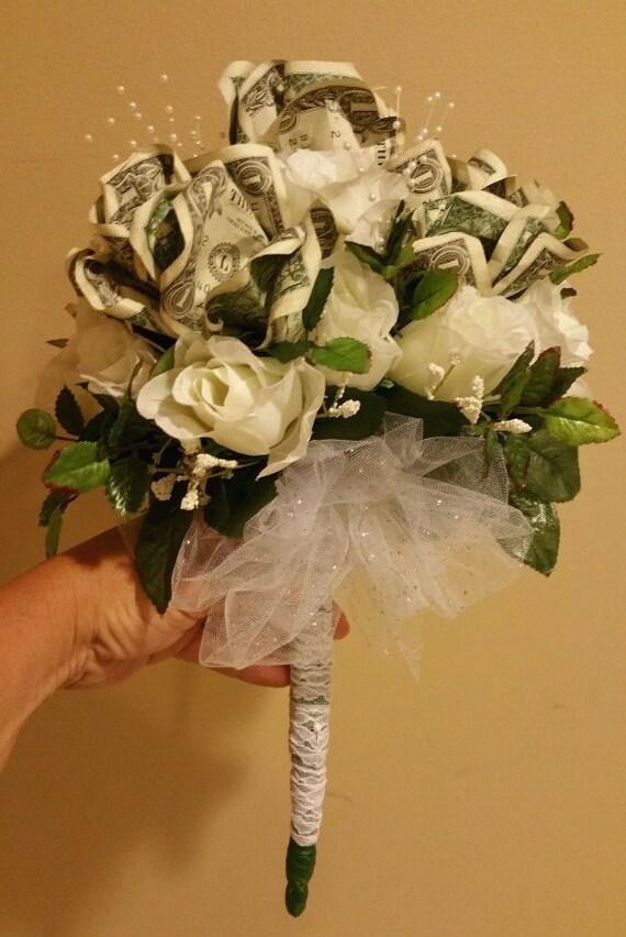 Beautiful money rose bouquet   Etsy