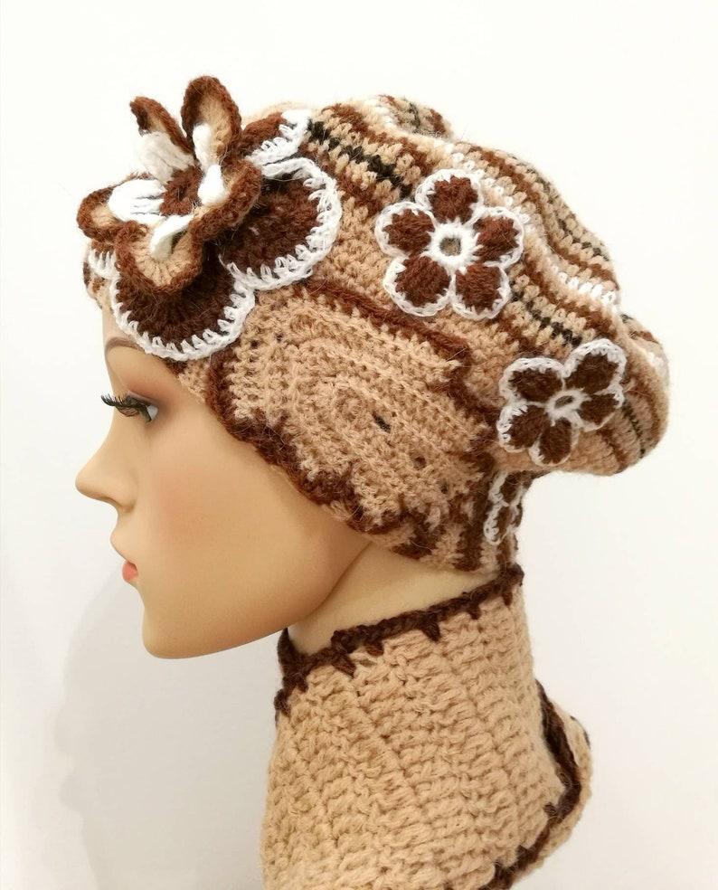 Set berretto e sciarpa in lanauncinettoset donnabasco e  54eb3887dcb0