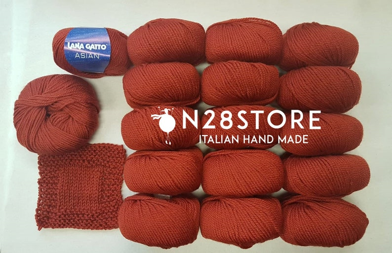 35/% off last lot available copper color Offer; Wool Cat yarn 800 gr