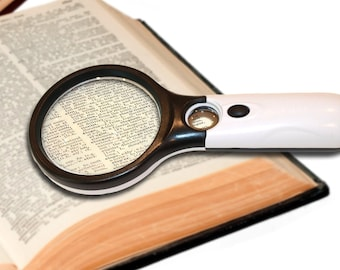 Glass Magnifier Etsy