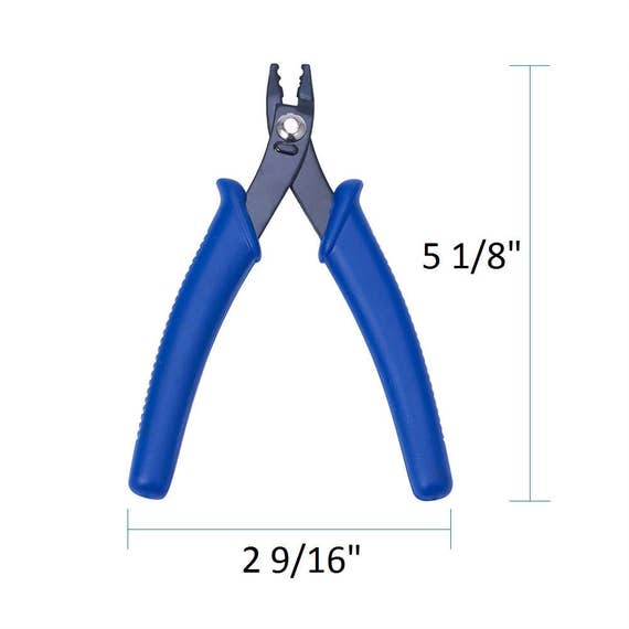 Jewelry Crimping Pliers Crimp Tool Alloy Micro Bead Us Seller Etsy