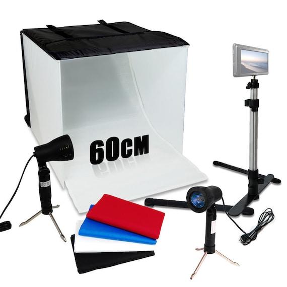 Studio Light Box Kit 24 X 24 Table Top Photography Etsy
