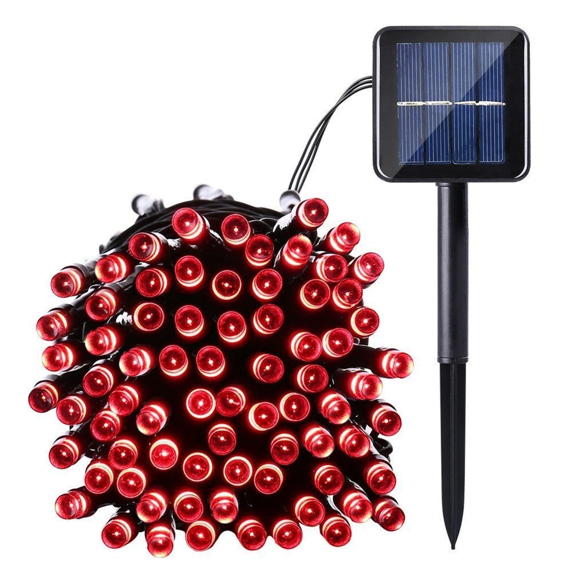 LED Waterproof Solar Powered Outdoor String Lights