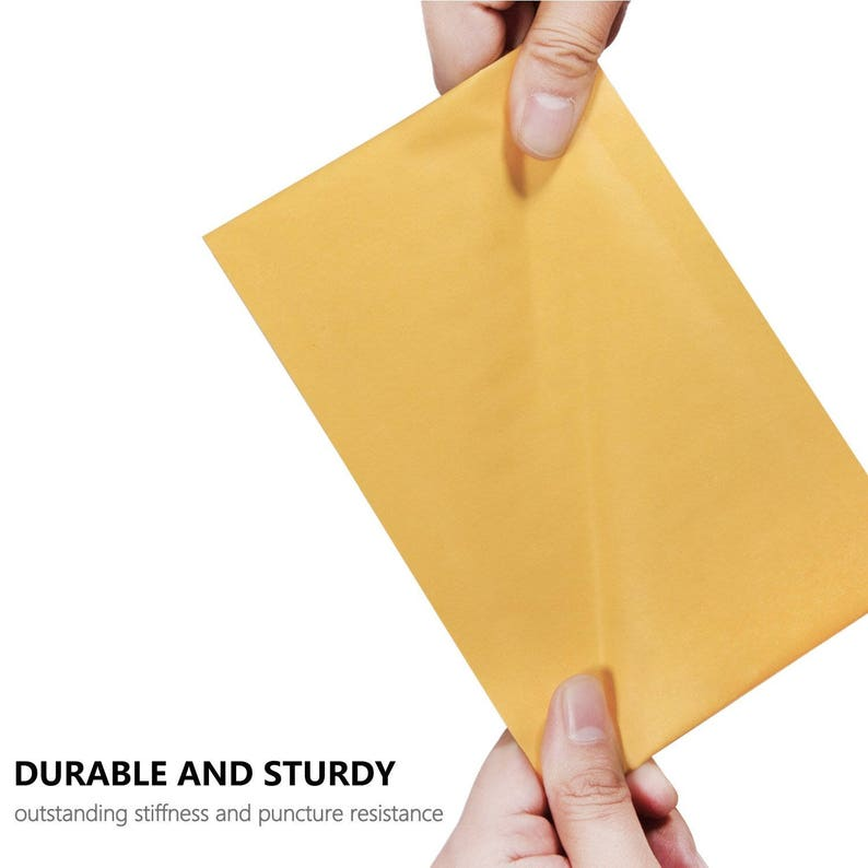 50pcs 4x8 Inches Kraft Bubble Mailers Self Seal Padded Envelopes Pack of 50  USA Seller Fast Shipping