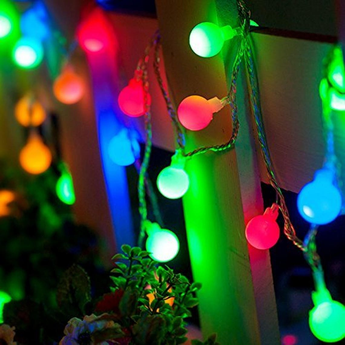 Multi Colored Waterproof Battery Powered Starry Fairy LED String Lights