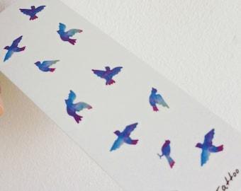 Blue bird tattoo | Etsy