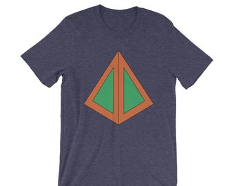 FX Legion - David Haller triangle design T-Shirt , TV show, Geek gift, Short-Sleeve Unisex T-Shirt