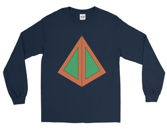 FX Legion - David Haller triangle design T-Shirt , Long Sleeve T-Shirt