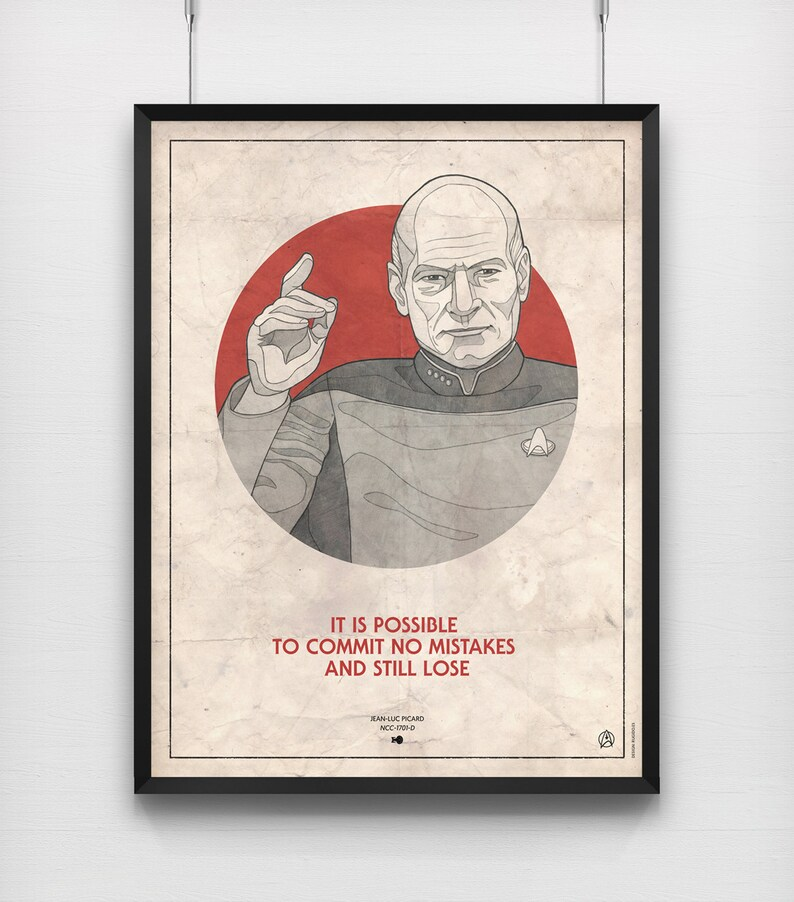 Jean luc picard quotes about love