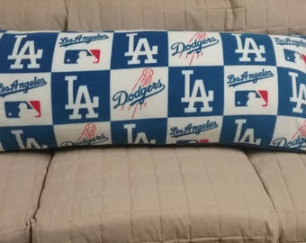 Los Angeles Dodgers Body Pillow Cover