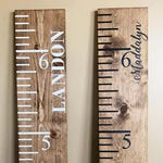 Baby Shower Gift   Nursery Decor   Height Chart   Rustic Growth Chart   Giant Ruler   Growth Chart   Vintage Growth Chart