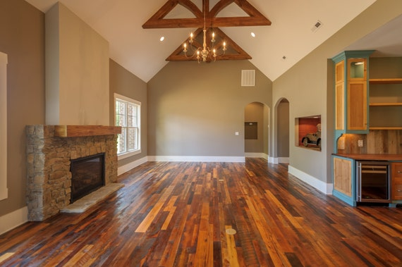 Authentic Reclaimed Wood Flooring Etsy