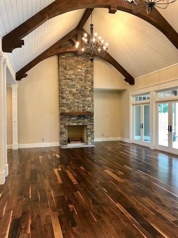 Old Growth Black Walnut Hardwood Flooring Etsy