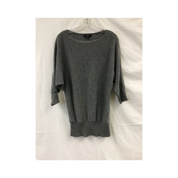 Cashmere Sweater - Women's Ann Taylor Heather Grey
