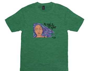 My Mind Is Reserved For Myself : Unisex T-Shirt Inspired By The 70% Love Webcomic