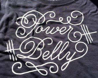 Power Belly | HAYlifts: Tank Top - Gym / Workout / Lift / Train / Bodybuilding / Powerlifting / Weightlifting / Just Strong