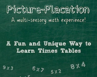 Picture-Placation Math Times Tables School Curriculum