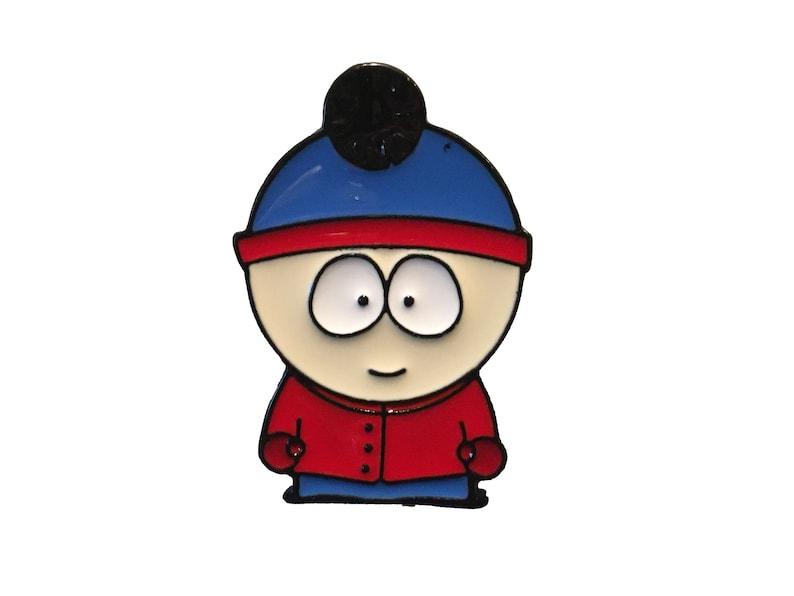Stan Park Festival Hat Pins  Hard Enamel Button Pinbacks