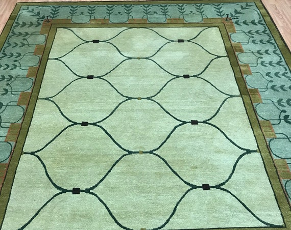 8' x 10' Nepal Tofangiyan Collection Oriental Rug - Hand Made - 100% Wool