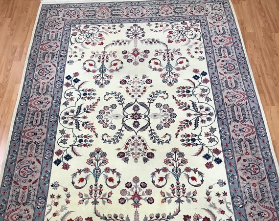 "5'8"" x 8'8"" Sino Chinese Oriental Rug - Full Pile - Hand Made- 100% Wool"