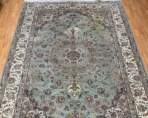 "5'9"" x 8'9"" Sino Chinese Tabriz Design Oriental Rug - Hand Made - 100% Wool"