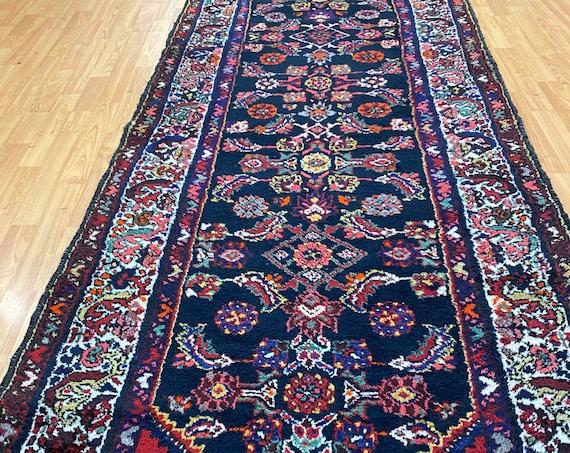 "3'4"" x 12'4"" Turkish Floor Runner Oriental Rug - Hand Made - 100% Wool"