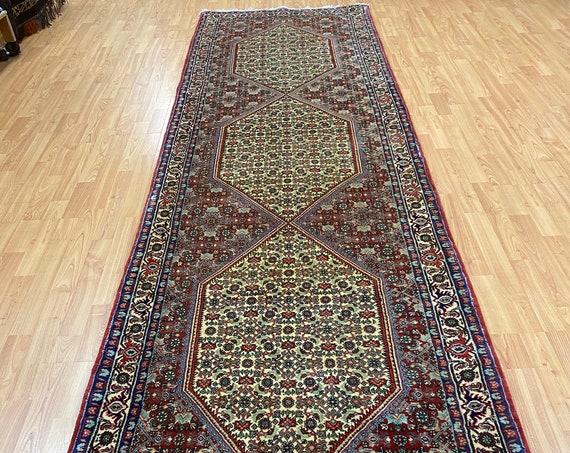 "3'1"" x 10'9"" New Kurdish Floor Runner Oriental Rug - Very Fine - Hand Made - 100% Wool"