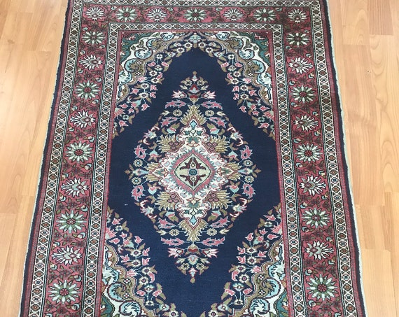 "2'1"" x 3'2"" Turkish Hereke Oriental Rug - 500 KPSI - Hand Made - 100% Silk"