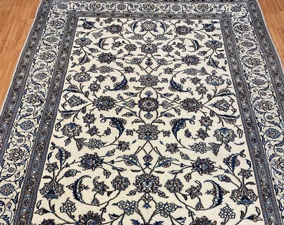 "6'9"" x 9'5"" New Turkish Oriental Rug - Fine - Wool and Silk - Hand Made"