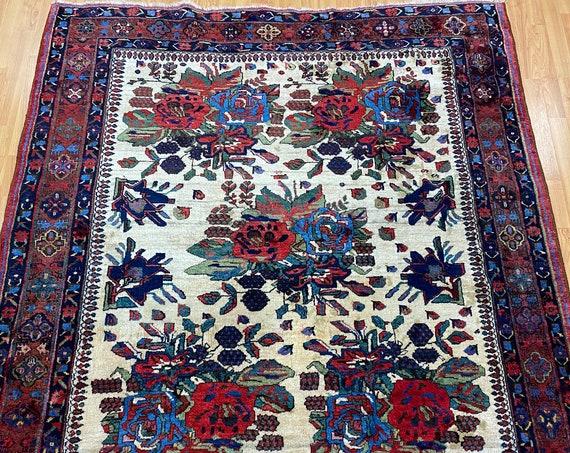 "5'6"" x 6'4"" Antique Turkish Golfarang Oriental Rug - 1930s - Hand Made - 100% Wool"