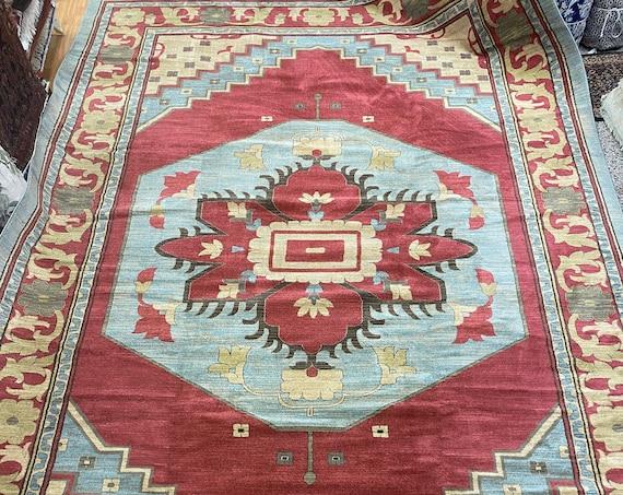 """10'6"""" x 16'5"""" Turkish Ser api Oriental Rug - Unique Looms - Full Pile"""