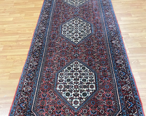 "2'6"" x 7'8 New Kurdish Floor Runner Oriental Rug - Very Fine - Hand Made - 100% Wool"