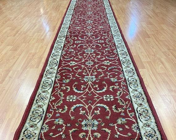 "2'2"" x 13'2""  Turkish Oriental Rug Floor Runner - Hand Made - 100% Wool"