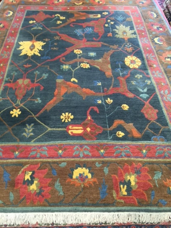 "8'6"" x 11'4"" Nepal Tofangiyan Collection Oriental Rug - Hand Made - 100% Wool"