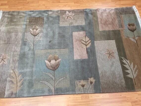 5' x 8' Modern Chinese Nepal (Nepalese) Oriental Rug - Hand Made 100% Wool