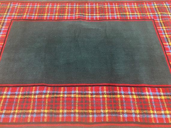"5'2"" x 8'2"" Chinese Art Deco Oriental Rug - Hand Made - Full Pile - 100% Wool"